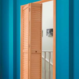 Инструкция по установке складной жалюзийной двери