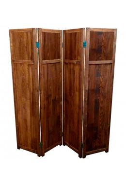 Ширма для комнаты деревянная покрытая маслом, Прованс-0052, ДваДома, 4 секционная, 164х160 см