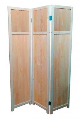 Ширма перегородка для комнаты деревянная Прованс-0041, ДваДома, 3 секции, 164х120 см